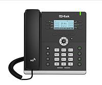 IP-телефон Htek UC903 , 3 SIP аккаунта, черно-белый экран 192x64 пикселей, HD Voice, PoE