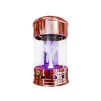 Портативная MP3 колонка фонтан от USB FM 2033Q