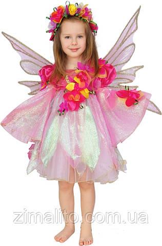 Эльф-девочка карнавальный костюм детский