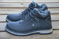 Мужские кожаные зимние ботинки Ecco