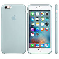 Силиконовый чехол Apple Silicone Case IPHONE 6/6s (Mint), фото 1