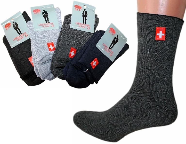 Мужские медицинские носки BFL №А333 - КОЛГОТКИ, ЛОСИНЫ, НОСКИ, ОДЕЖДА  крупным и мелким оптом «NOVE MISTO» в Одессе