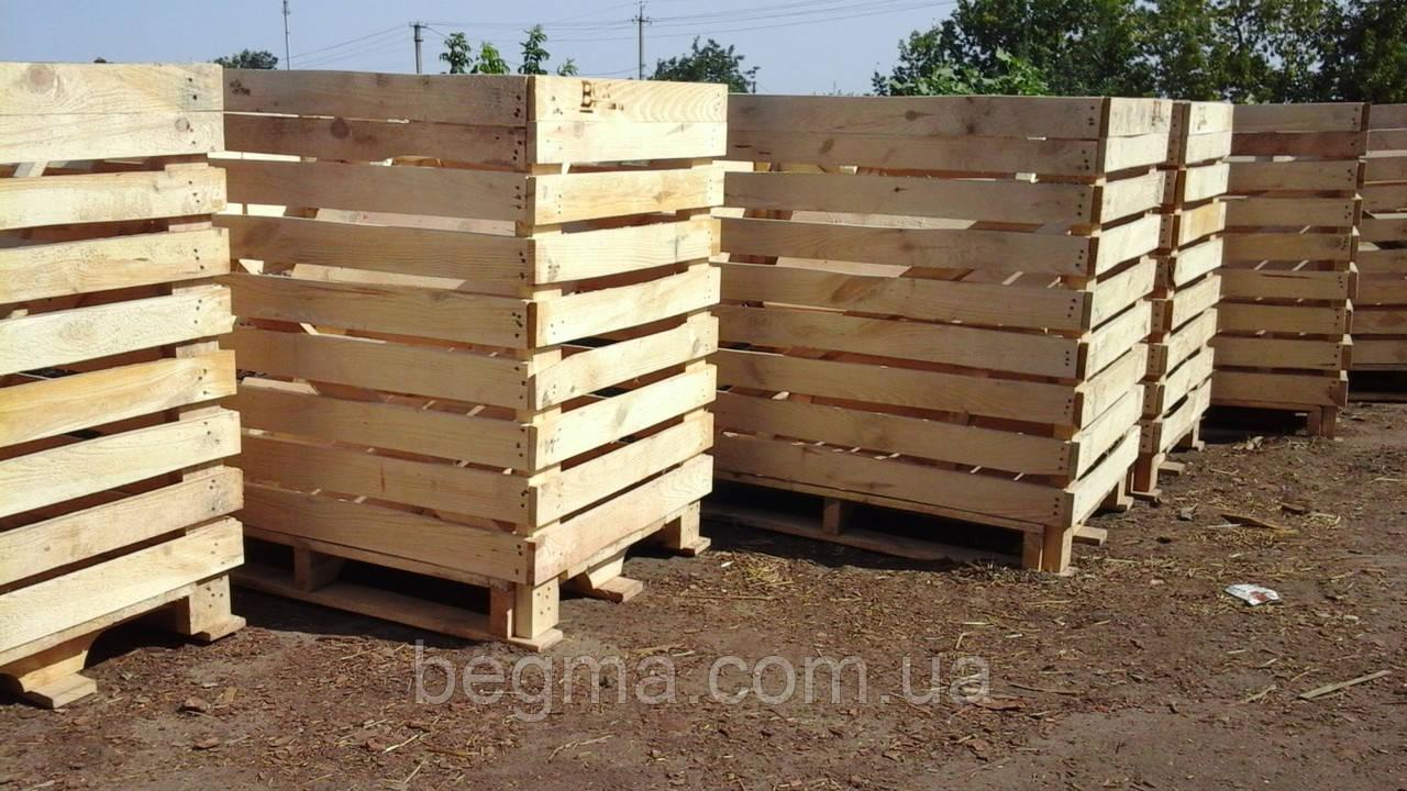 Контейнер деревянный 1200х800х1140мм