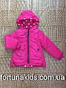 Куртки зимние на меху для девочек CROSSFIRE 1-5 лет, фото 2