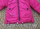 Куртки зимние на меху для девочек CROSSFIRE 1-5 лет, фото 5