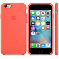 Силиконовый чехол Apple Silicone Case IPHONE 6/6s (Orange)