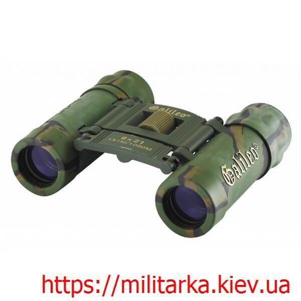 Бинокль военный 8x21- Galileo