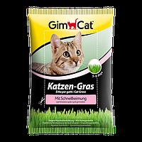 Gimpet KATZEN-GRAS 100 г - быстропрорастающая травка для кошек