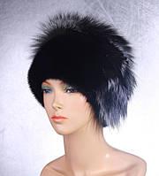 Женская меховая шапка Веер