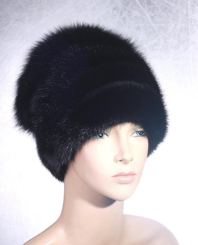 Жіноча хутрова шапка Чиполліно