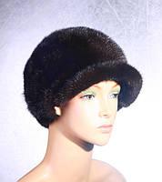 Меховая женская шапка Жокейка