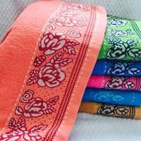 Банные полотенца Розочка