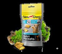 GimDog (Джимдог) Nutri Pockets AGILE 45г - подушечки с глюкозаминами и витамином В для здорья суставов