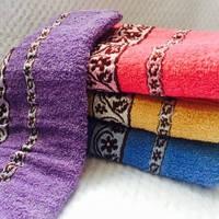 Банные полотенца Цветочек