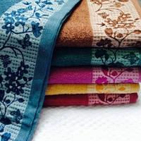 Банные полотенца Цветочки