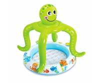 "Детский бассейн ""Smiling Octopus Shade Baby Pool"" Intex 57115"