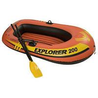 Надувная лодка Explorer 200 Pro Set Intex 58357