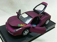 Автопром метал модель машины ferrari 458