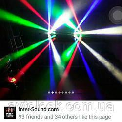 LED паук.12/220вольт