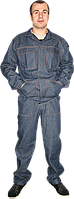 Костюм  модельный джинсовый, фото 1