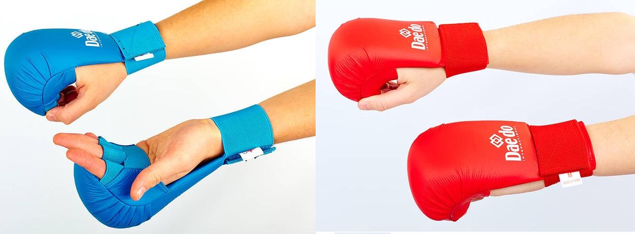 Перчатки для каратэ DAEDO (PU, р-р S-XL) - ukr-sport.prom.ua в Одессе