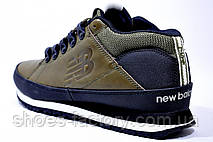 Ботинки мужские в стиле New Balance H754BGY, Olive, фото 3