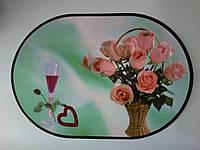 Моющаяся салфетка для сервировки стола, на тумбочку, полочку,  28см*40см