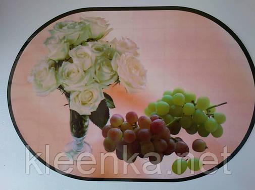 Водонепроницаемая салфетка для сервировки стола, на тумбочку, полочку,  28см*40см, фото 2