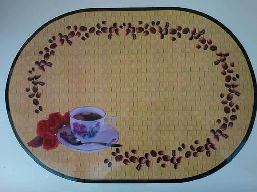 Салфетки, сеты для сервировки стола, на тумбочку, полочку  Кофе,  28см*40см, фото 2