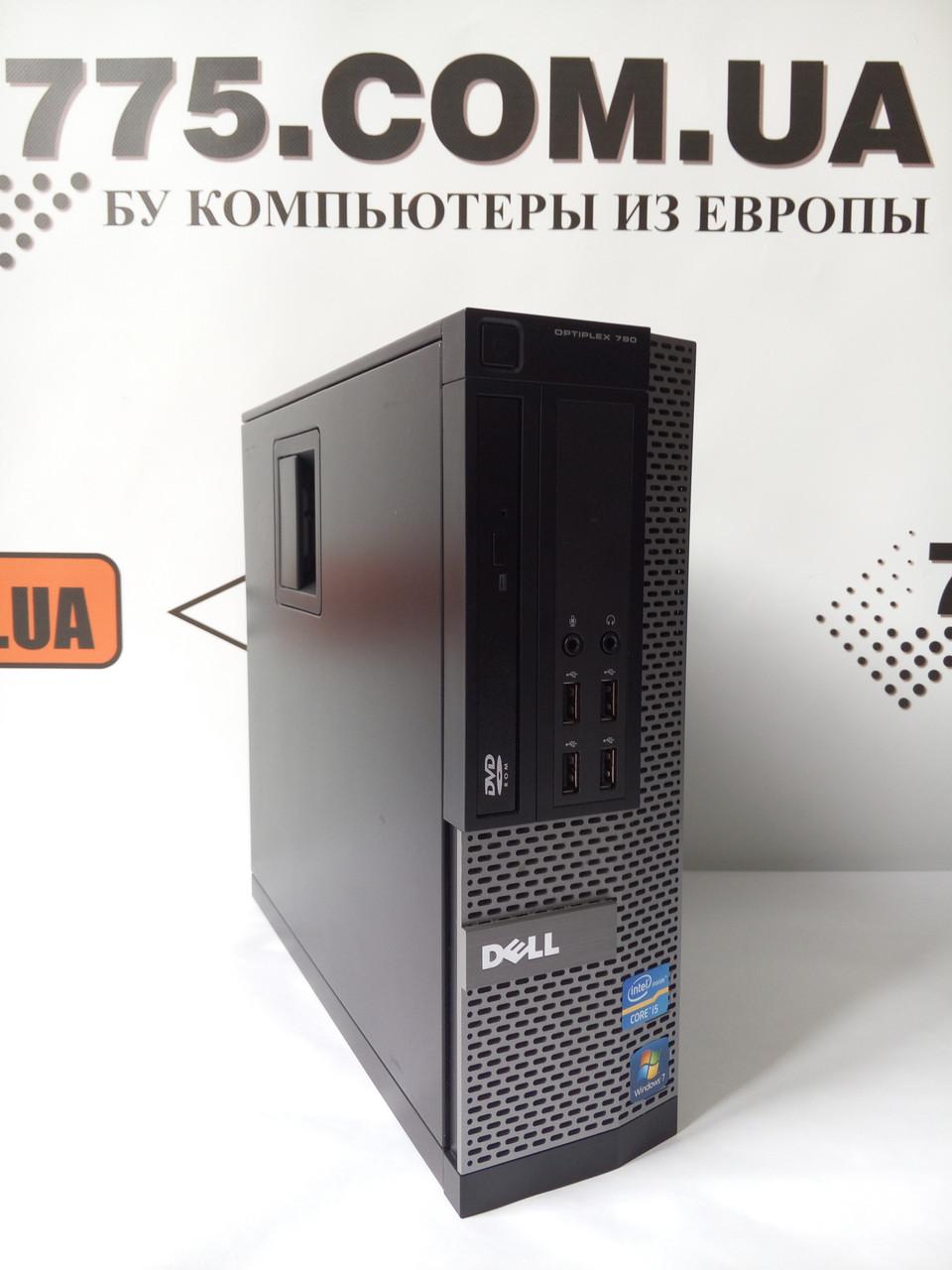 Компьютер Dell 790 (SFF), Intel Core i3-2100 3.1GHz, RAM 4ГБ, HDD 250ГБ