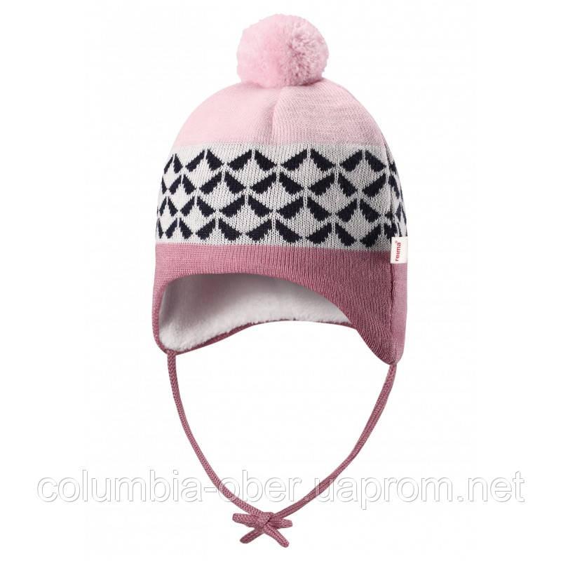 Зимняя шапка для девочки Reima Unonen 518415-4320. Размеры 34 - 44.