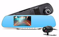 Видеорегистратор зеркало DVR BlackBox Full HD 1080P на 2 камеры!, фото 1