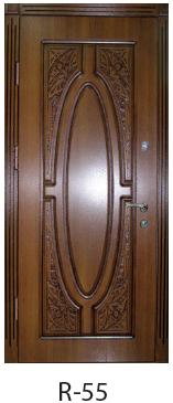 """Входная дверь """"Портала"""" (серия Премиум) модель R-55"""