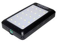 Портативный аккумулятор A51 50000 mAh с солнечной батареей UKC Solar 21 светодиод 2 USB KV