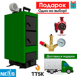 НЕУС-КТА (NEW) котел твердотопливный длительного горения мощностью от 15 до 23 кВт