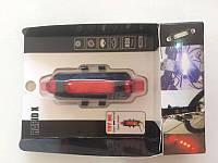 Фонарь велосипедный аккумуляторный BL-780 задний свет