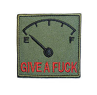 """Патч """"Give A Fuck o-meter"""""""