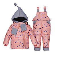 Детский зимний комбинезон Yeti (YT-1020 Pink)