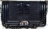 Женская сумка/клатч Chanel BOY, Шанель, (ЧЕРНЫЙ), 0121