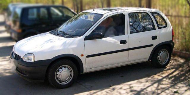 F-1 Door moldings  Opel Corsa B 5 Door 1993-200