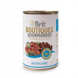 Brit (Брит) Boutiques Gourmandes Кусочки утки в паштете для собак, 400гр