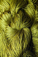 Нити шторы кисея оливковые, фото 1
