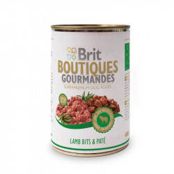 Brit (Брит) Boutiques Gourmandes Кусочки ягненка в паштете для собак, 400гр
