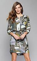 Zaps осінь-зима 2017-2018 плаття BLANCA 051 зелений XL