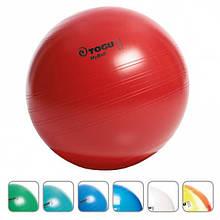 М'яч для фітнесу Togu MyBall 55см колір червоний і срібло