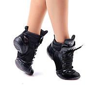 Обувь  для современных танцев и фитнеса, сникера высокие, джазовки.