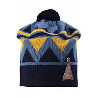 Демисезонная шапка для мальчика Reima Latsa 528568-6740. Размер 50-56.