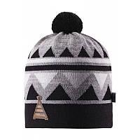 Демисезонная шапка для мальчика Reima Latsa 528568-9990. Размер 50-56.