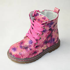 Демисезонные ботинки для девочек Clibee 23р.-28р. 3580