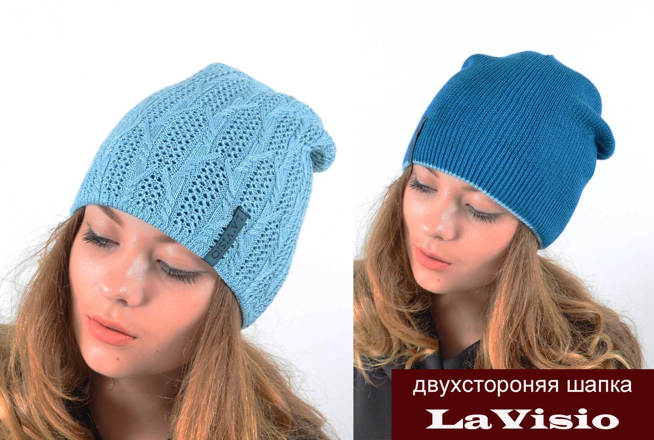 Двухстороняя шапка LaVisio (ЛаВисио).